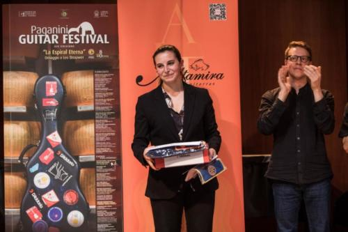 Special Prize at Paganini Guitar Festival